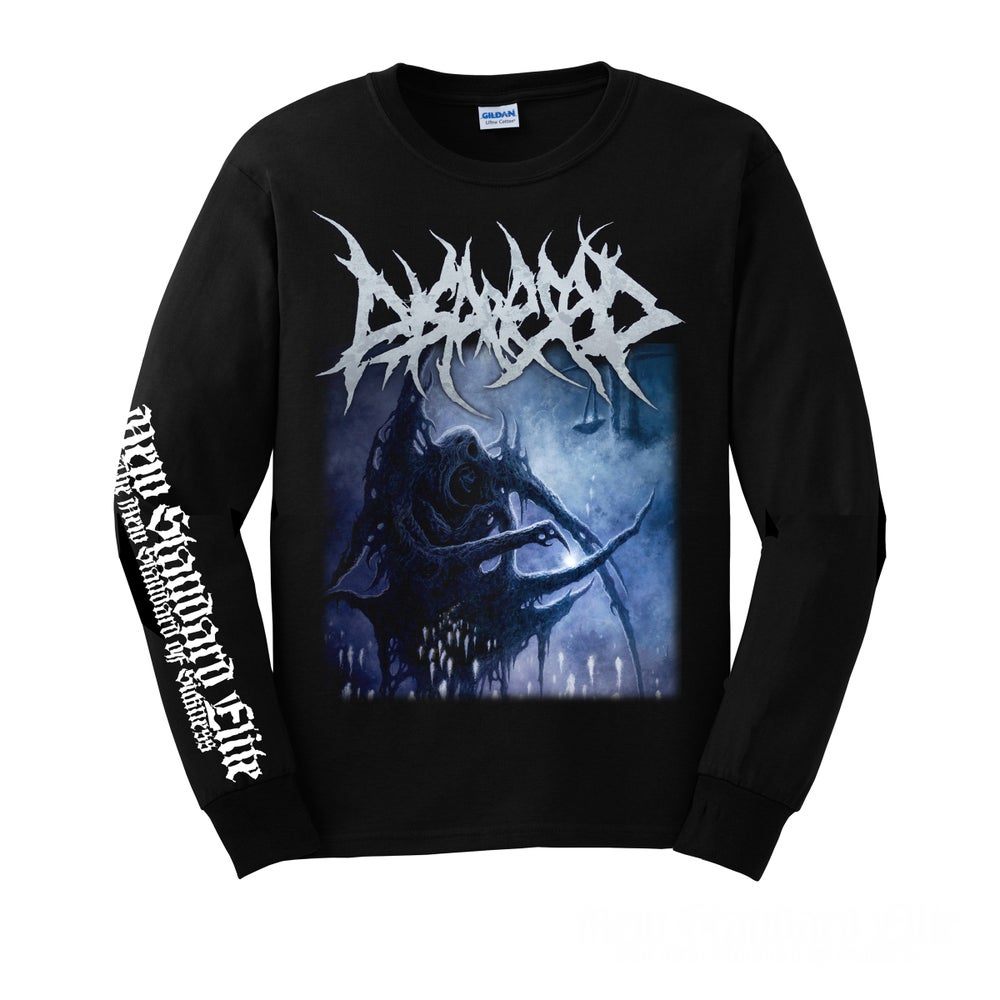 """Image of DISPERSED """"WHERE SILENCE REIGNS"""" LONG SLEEVE"""