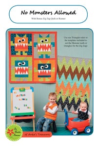 Image of No Monsters Allowed PDF pattern