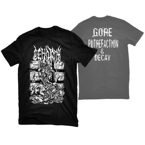 "Image of CENOTAPH ""MORGUE"" T-SHIRT"