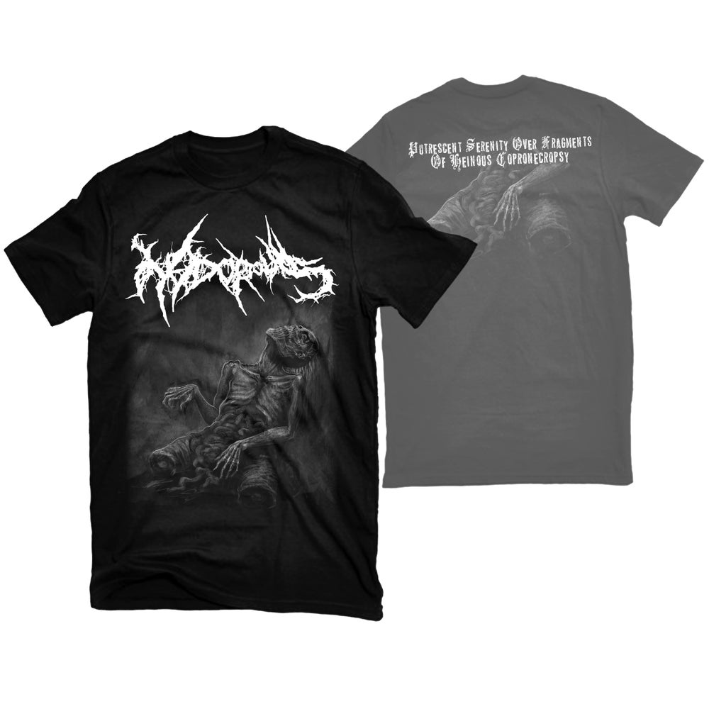 """Image of NIDOROUS """"HEINOUS COPRONECROPSY"""" T-SHIRT"""