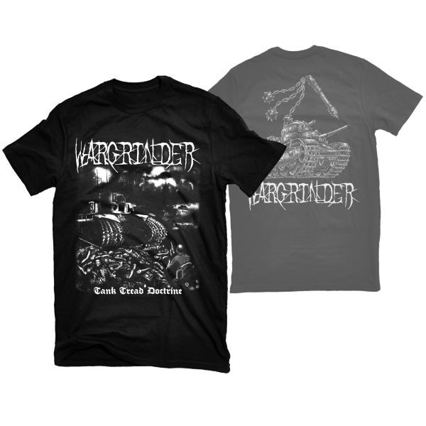 "Image of WARGRINDER ""TANK TREAD DOCTRINE"" T-SHIRT"