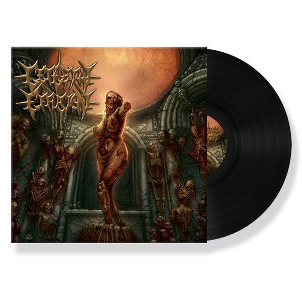 "Image of CEREBRAL EFFUSION ""IMPULSIVE PSYCHOPATHIC ACTS"" VINYL"