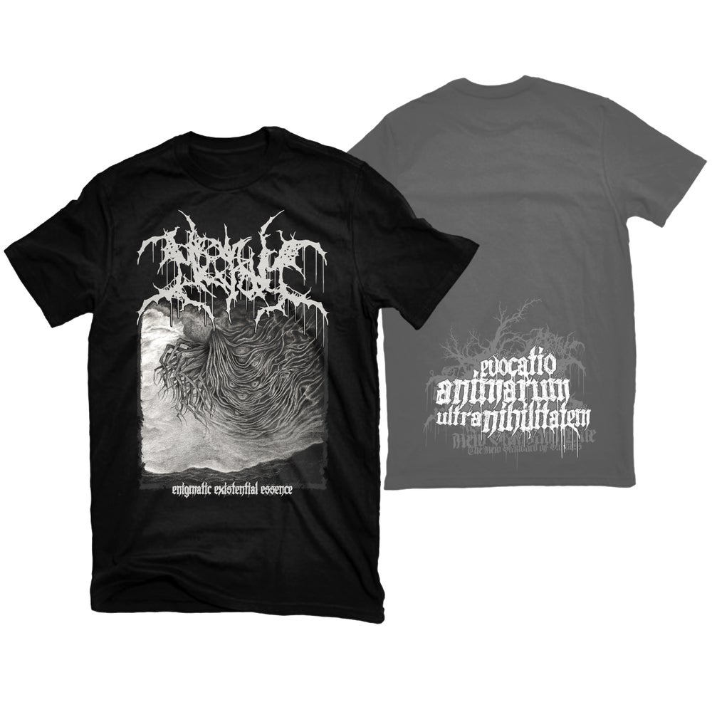 """Image of MESHUM """"ENIGMATIC EXISTENTIAL ESSENCE"""" T-SHIRT"""