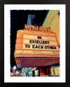 "Mohawk Theater North Adams MA Giclée Art Print - 11"" x 14"""