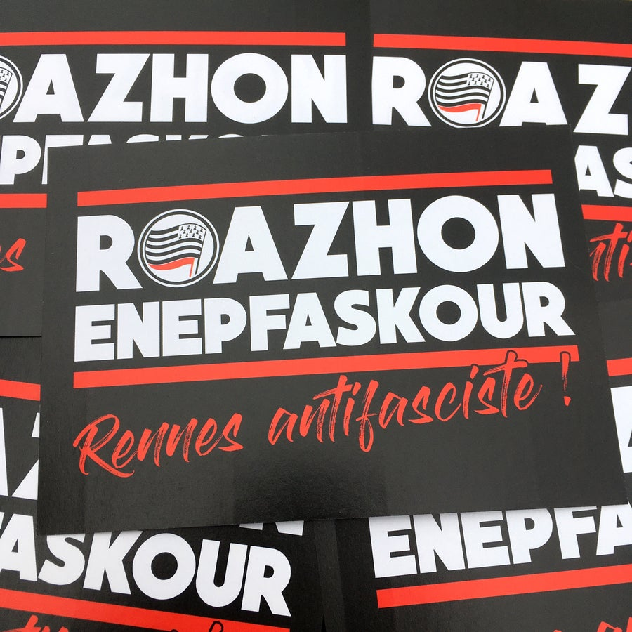 Image of Kêr Enepfaskour / Ville antifasciste !