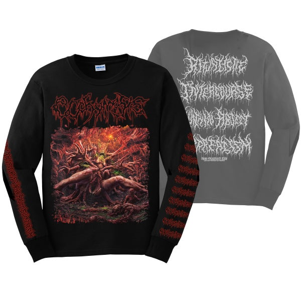 "Image of ECCHYMOSIS ""RITUALISTIC INTERCOURSE"" LONG SLEEVE"