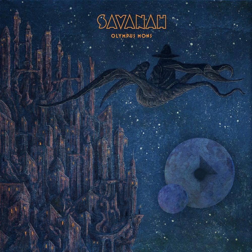 Image of Savanah - Olympus Mons Limited Digipak CD
