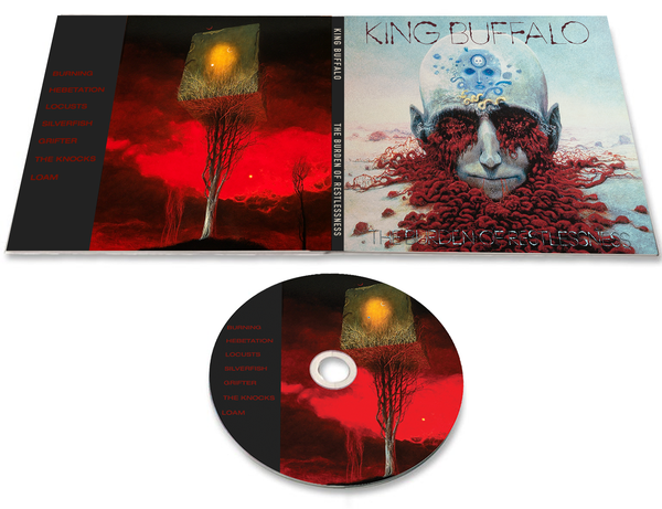 Image of **Preorder** The Burden of Restlessness Digipak CD