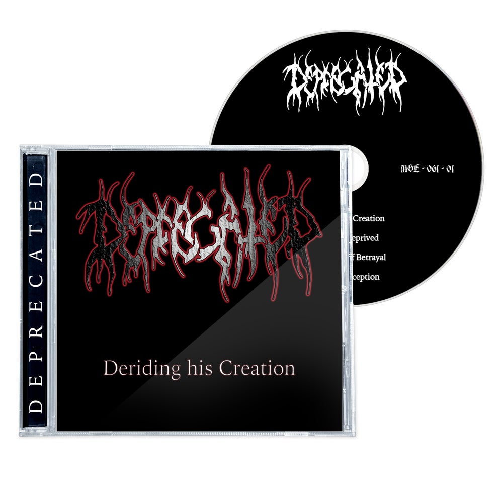 """Image of DEPRECATED """"DERIDING HIS CREATION"""" 1998 CD (2021)"""