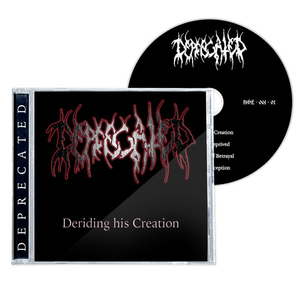 "Image of DEPRECATED ""DERIDING HIS CREATION"" 1998 CD (2021)"