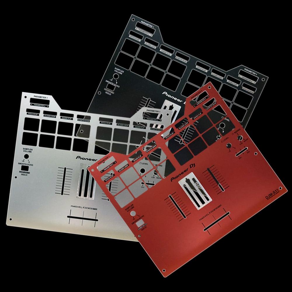 Image of CUSTOM FACEPLATE - Pioneer DJM-S11 colour