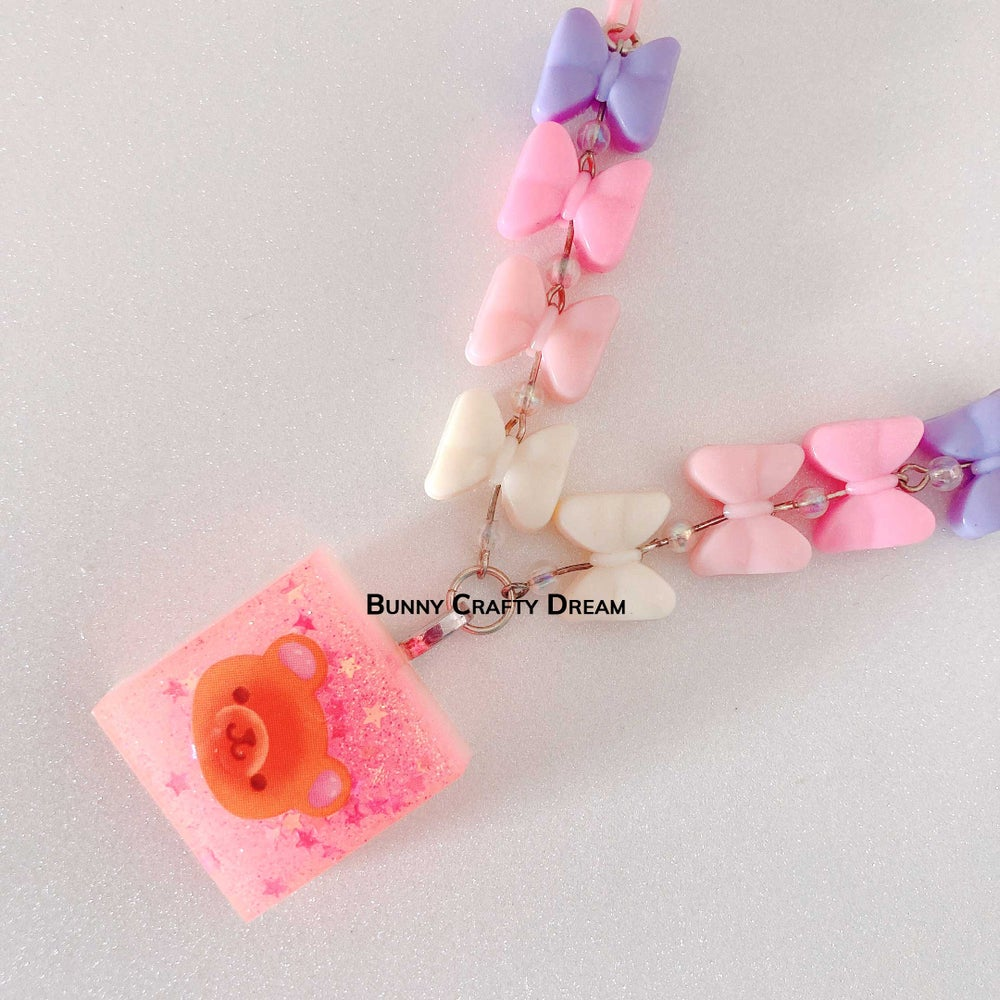 Image of Kawaii Block Necklace