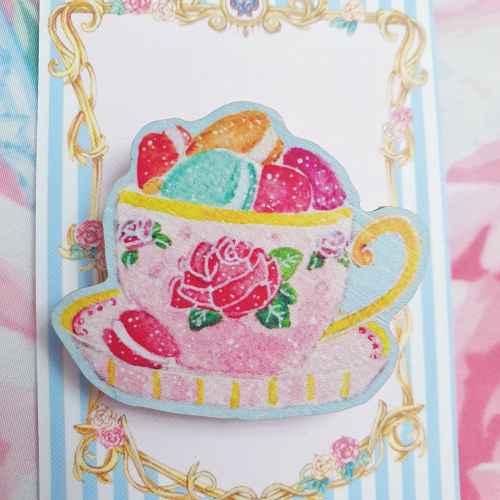 Image of Tiny Teacup Treats - French Macarons