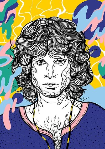 Image of Jim Morrison (The DOORS)
