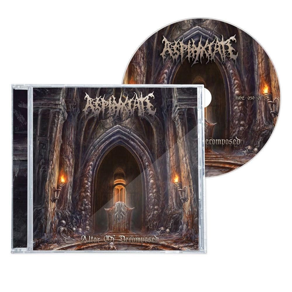 """Image of ASPHYXIATE """"ALTAR OF DECOMPOSED"""" CD"""