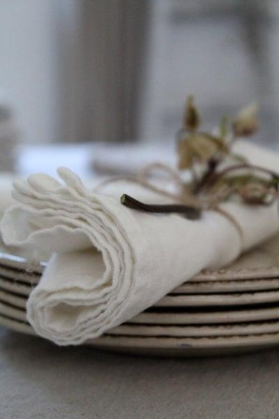 Image of Serviette de table lin lavé (SRVTABBLCKC)