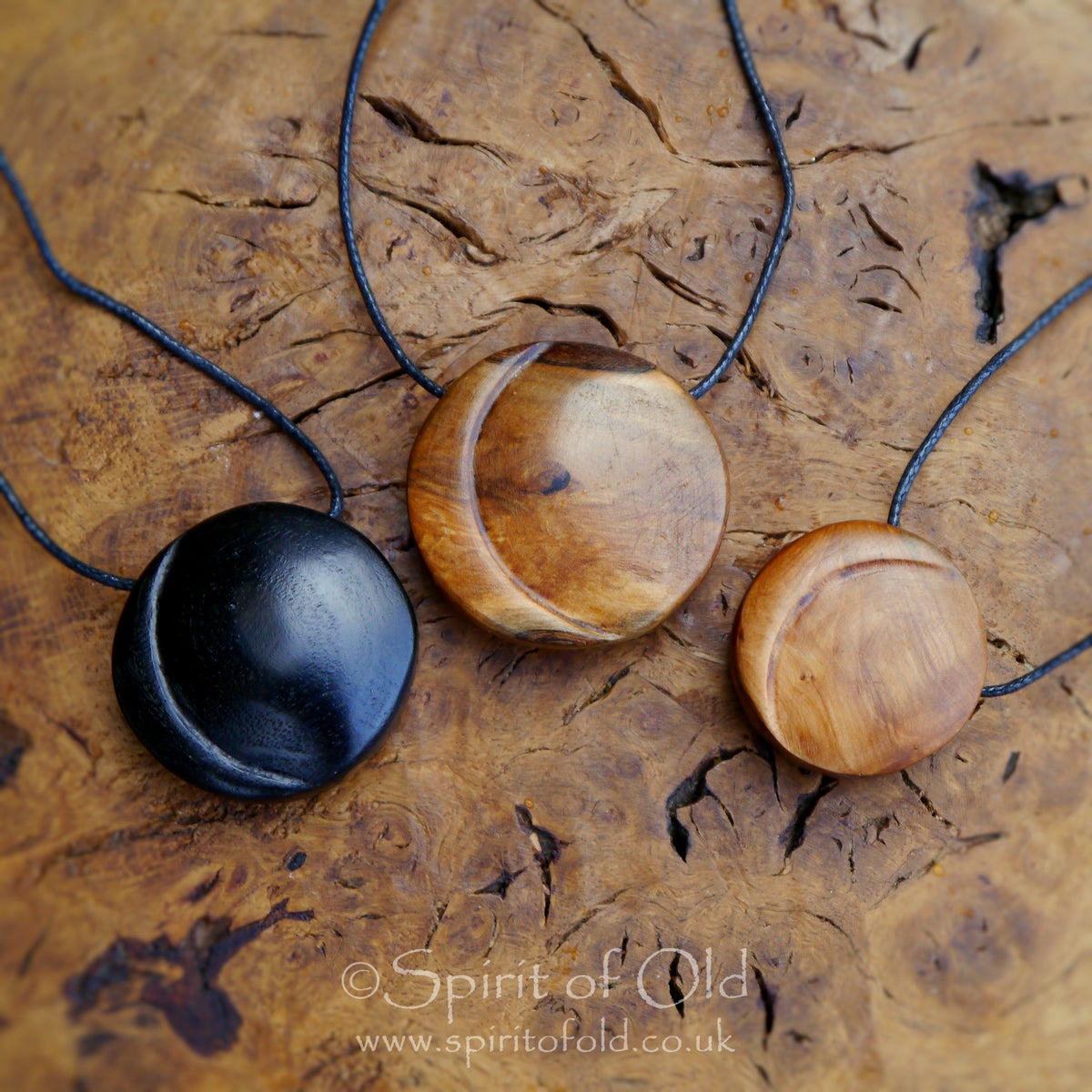 Image of New Moon pendants (PE1412) (Prices vary)