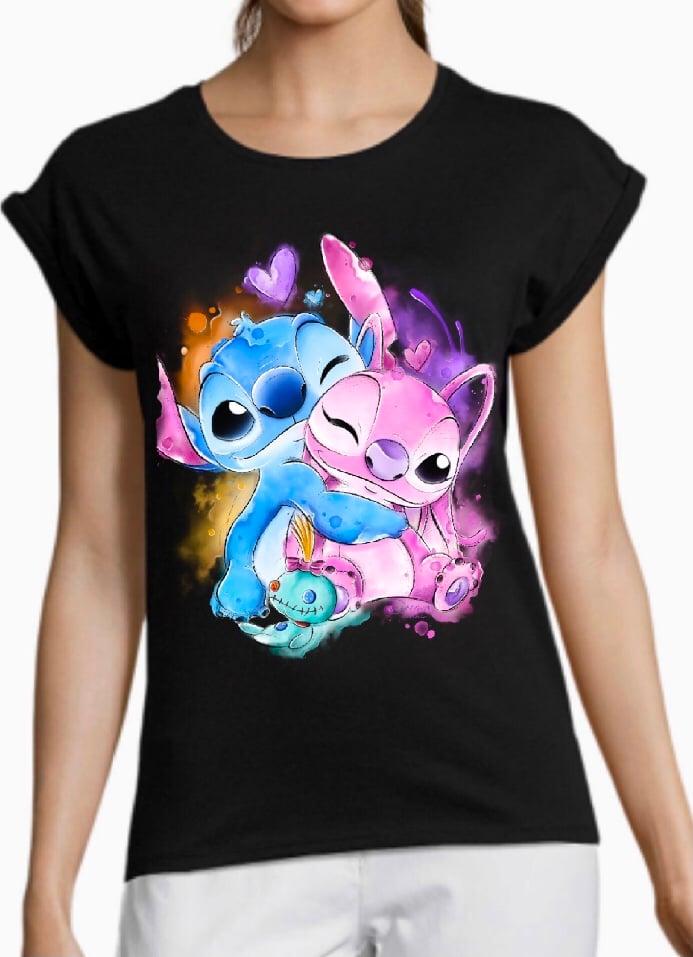 Camiseta chica - Stitch&Angel