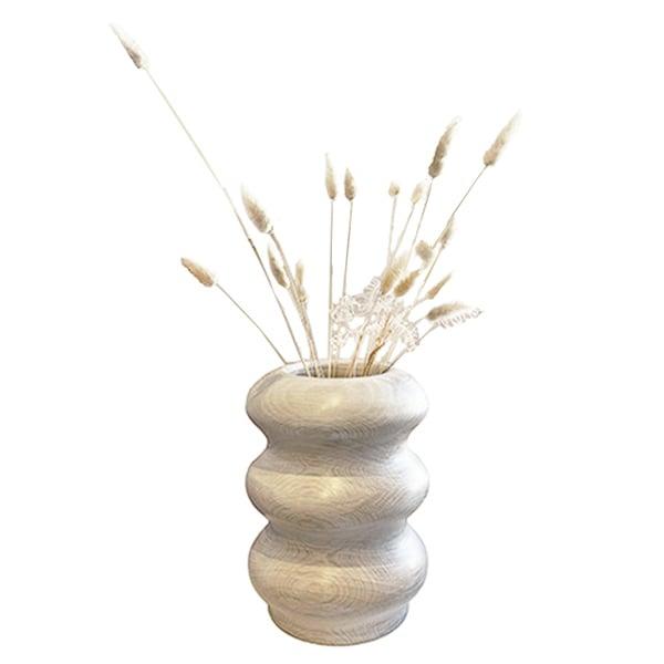Image of Three Rings Large Oak Vase