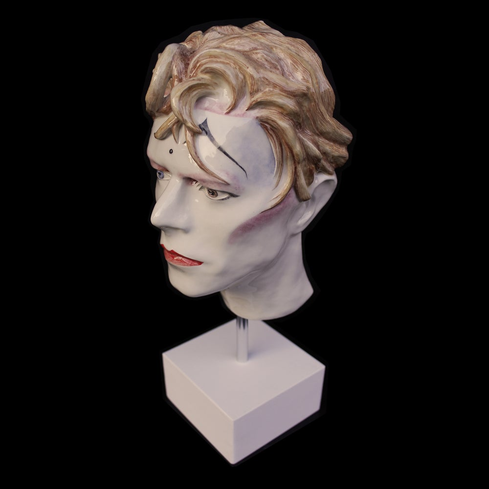 'Ashes To Ashes' Ceramic Face Sculpture
