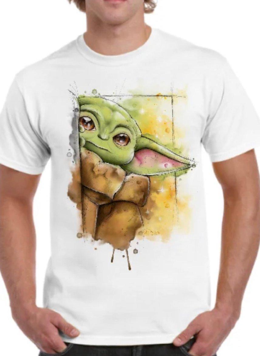 Camiseta Unisex - Baby Yoda