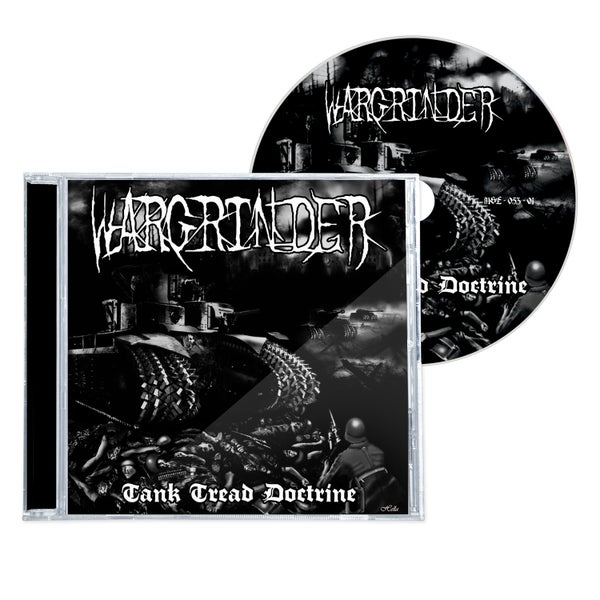 "Image of WARGRINDER ""TANK TREAD DOCTRINE"" CD"