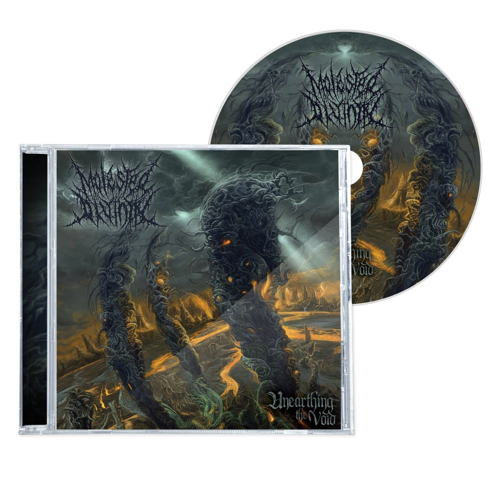 """Image of MOLESTED DIVINITY """"UNEARTHING THE VOID"""" CD"""
