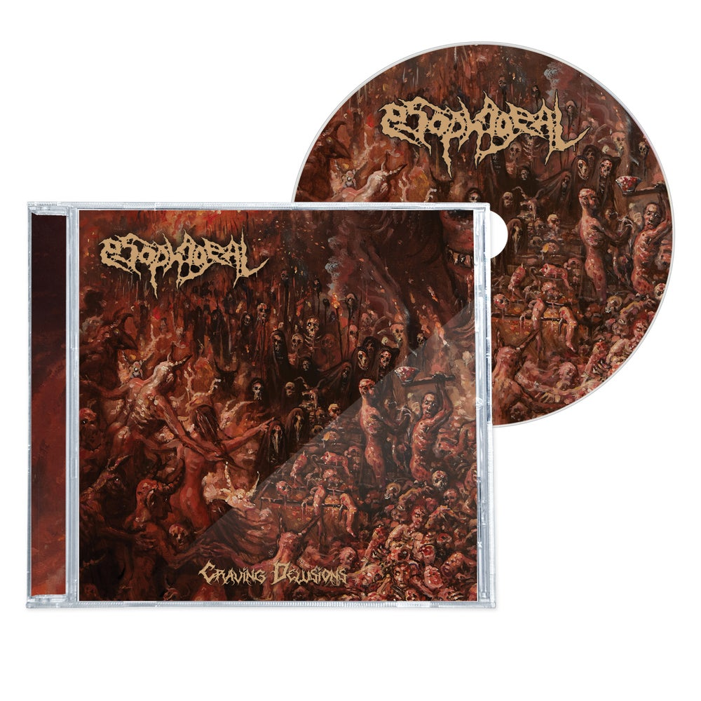 """Image of ESOPHAGEAL """"CRAVING DELUSIONS"""" CD"""