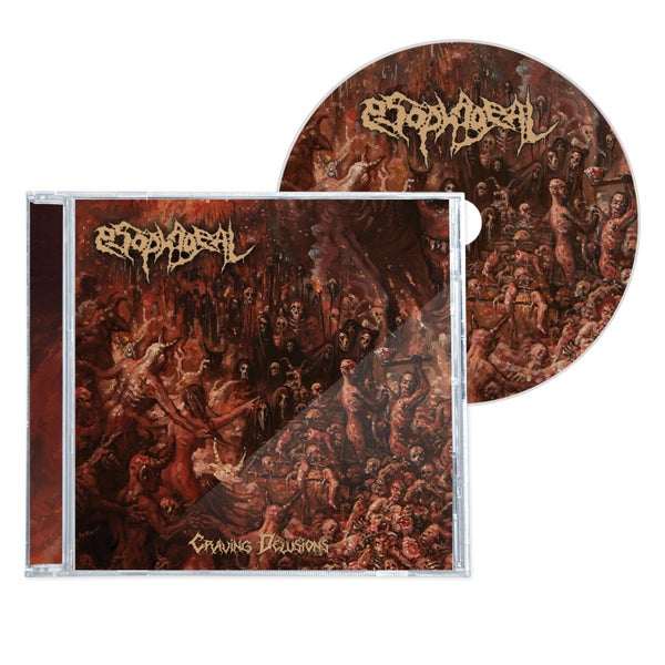 "Image of ESOPHAGEAL ""CRAVING DELUSIONS"" CD"