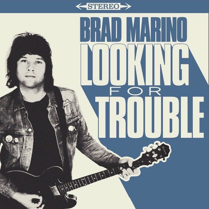 """Brad Marino """"Looking For Trouble"""" LP P"""