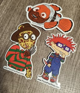 Image of Pizza Pop Sticker Series (Pack 1)