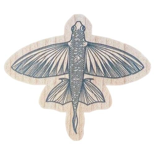Image of Malolo Wood Sticker