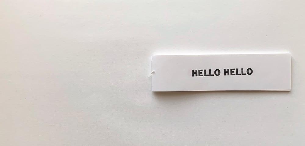 Image of Hello Hello