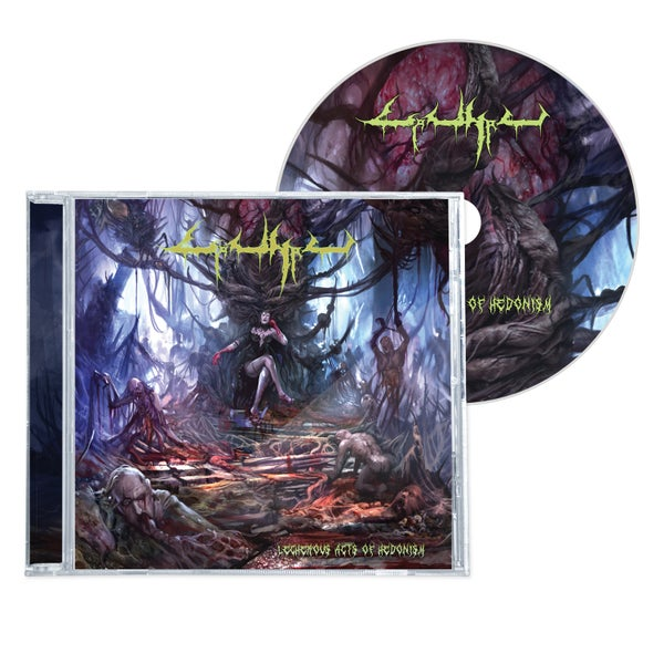 "Image of CARNAL ""LECHEROUS ACTS OF HENODISM"" CD"