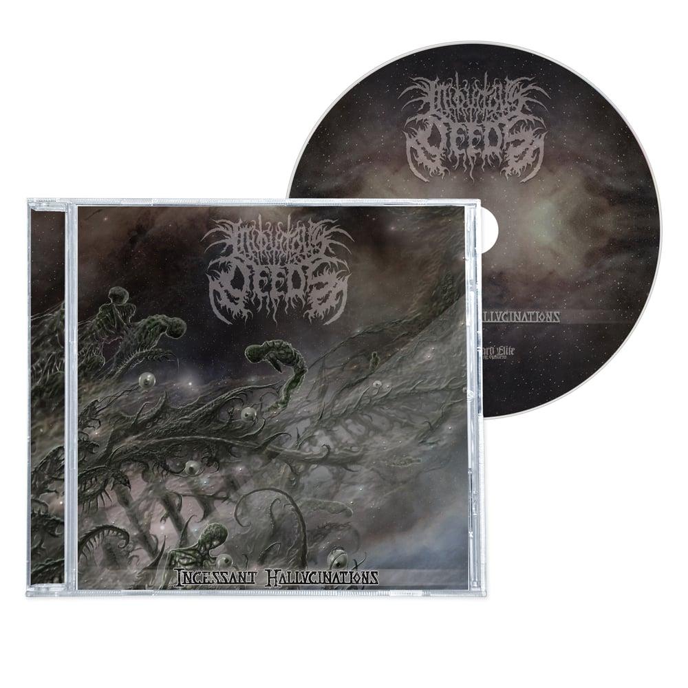 "Image of INIQUITOUS DEEDS ""INCESSANT HALLUCINATIONS"" CD"
