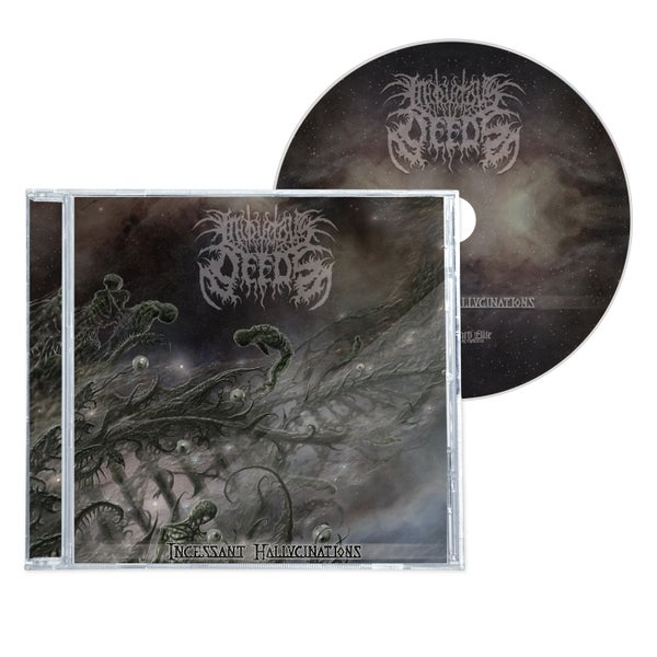 "Image of INIQUITOUS DEEDS ""INCESSANT HALLUCINATIONS"" CD"