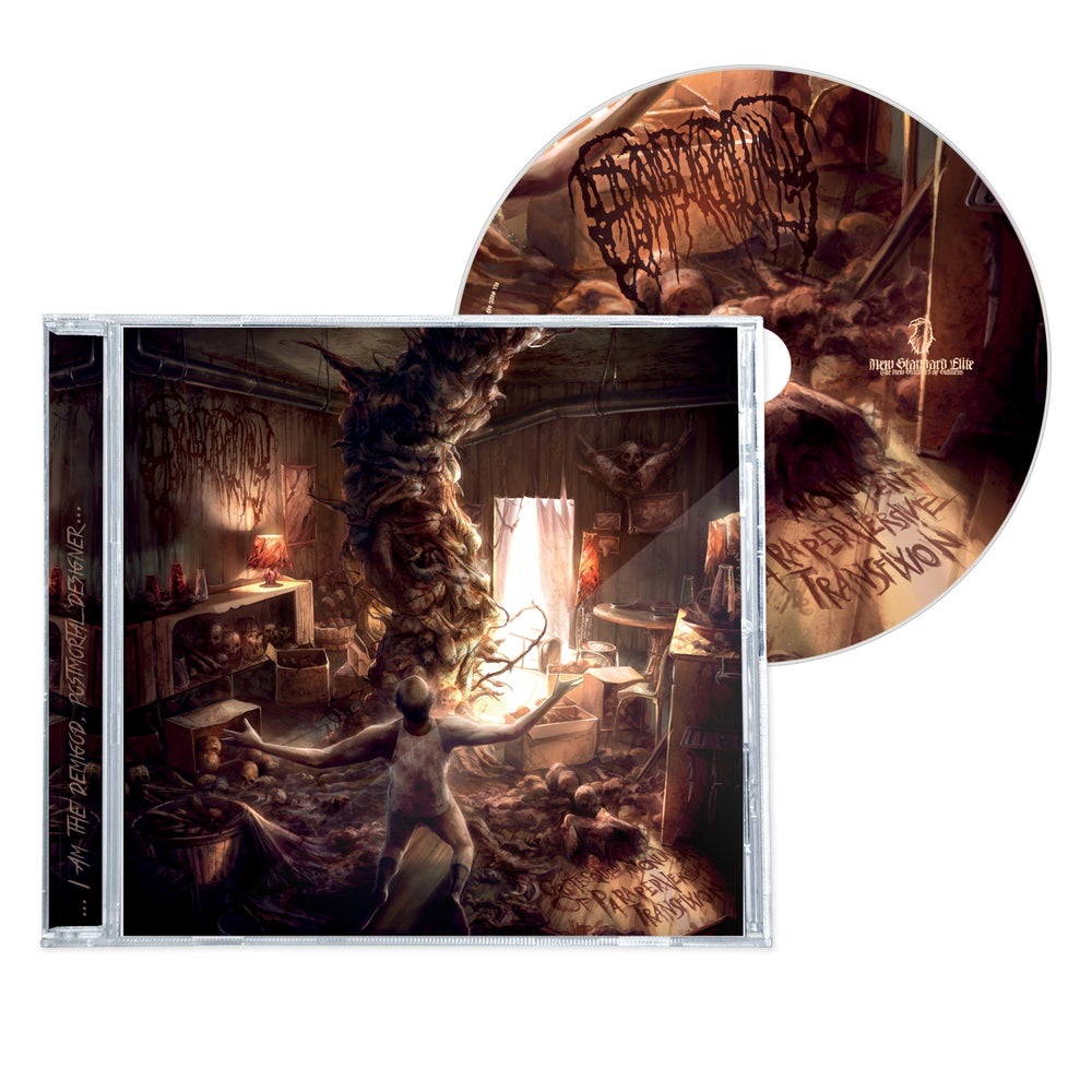 """Image of EPICARDIECTOMY """"GROTESQUE MONUMENT OF PARAPERVERSIVE TRANSFIXION"""" CD"""
