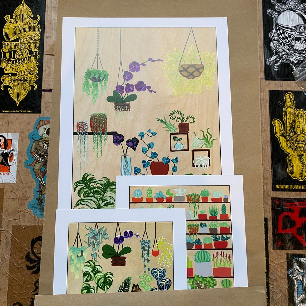 Image of Plant Print Package - 3 Prints