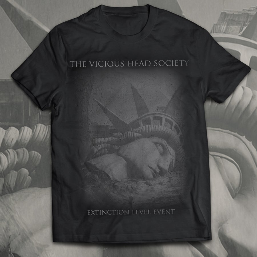 Image of The Vicious Head Society - 'Extinction Level Event' T-Shirt