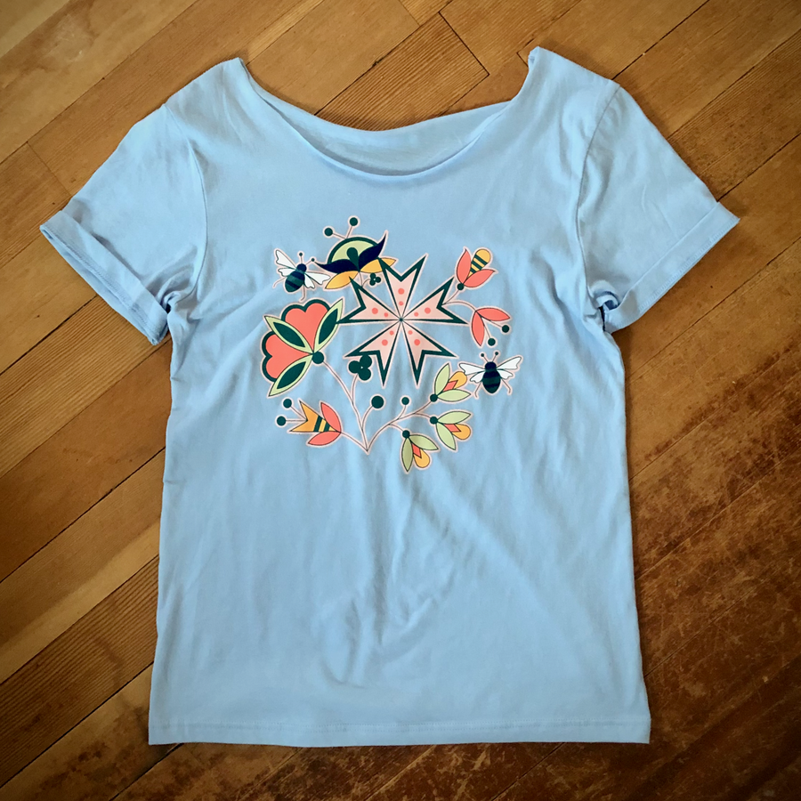 Image of Bouquet Swoop Tee