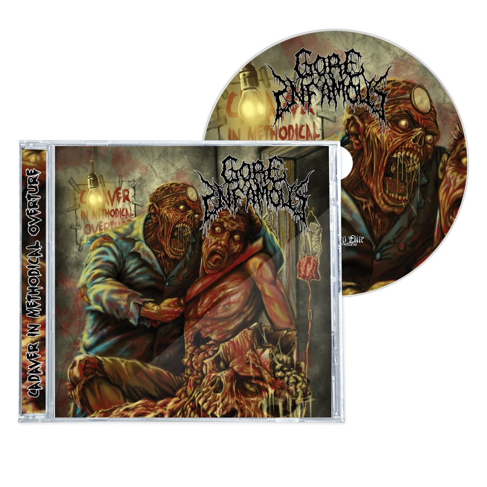 """Image of GORE INFAMOUS  """"CADAVER IN METHODICAL OVERTURE"""" EP/CD"""
