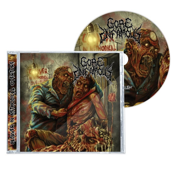 "Image of GORE INFAMOUS  ""CADAVER IN METHODICAL OVERTURE"" EP/CD"