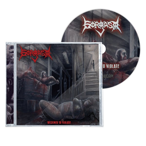 "Image of GORGASM ""DESTINED TO VIOLATE"" CD"