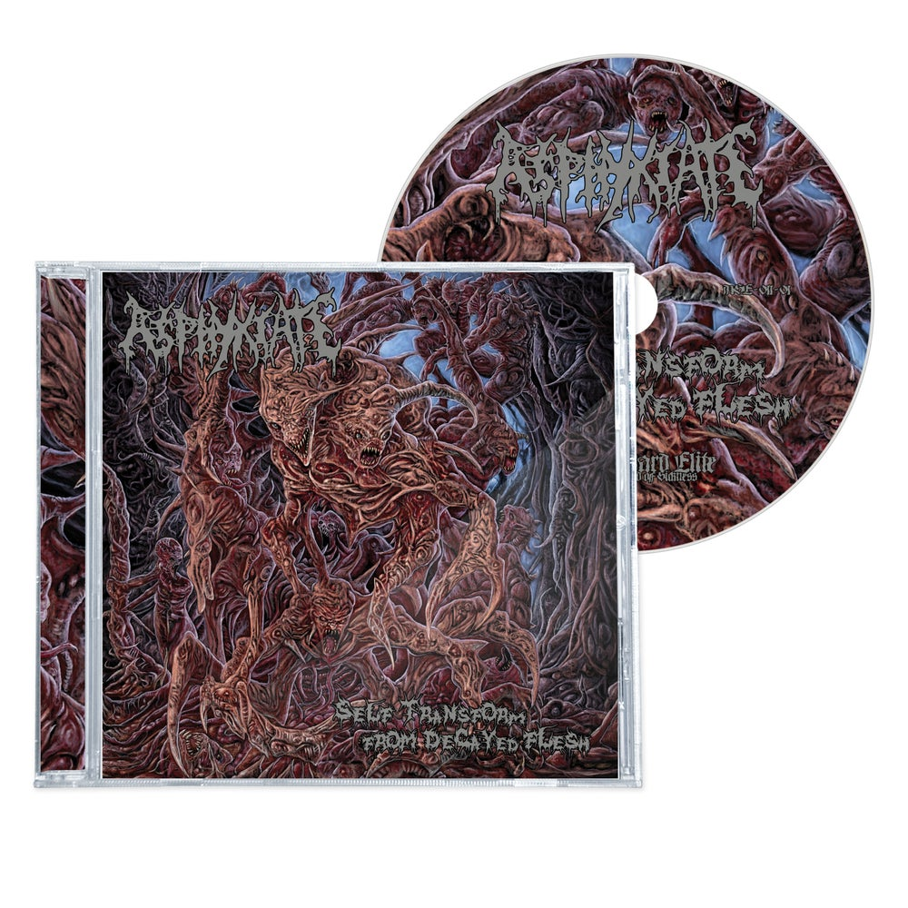 """Image of ASPHYXIATE """"SELF TRANSFORM FROM DECAYED FLESH"""" CD"""