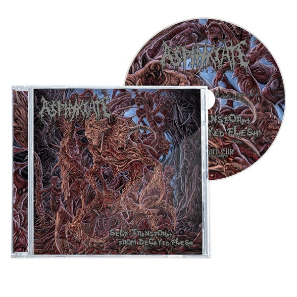 "Image of ASPHYXIATE ""SELF TRANSFORM FROM DECAYED FLESH"" CD"