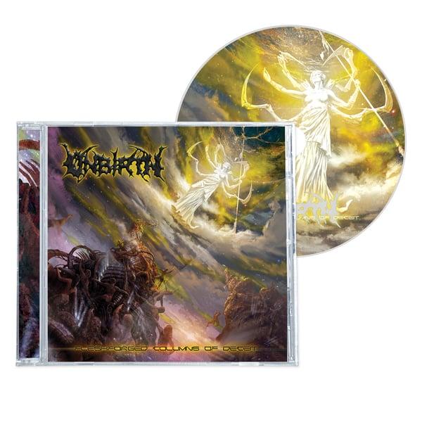 "Image of UNBIRTH ""FLESHFORGED COLUMNS OF DECEIT"" CD"