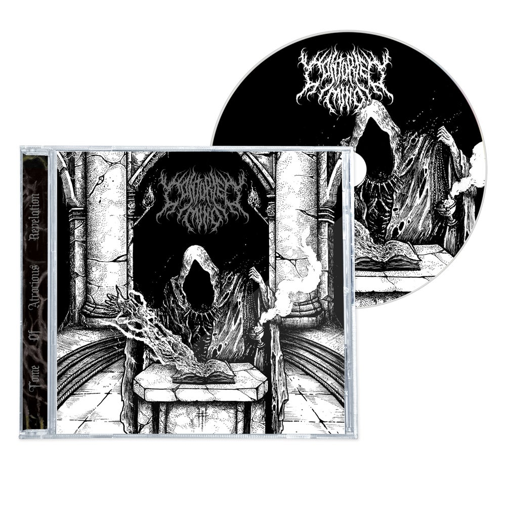 """Image of CONTORTED MIND """"TOME OF ATROCIOUS REVELATION"""" CD"""