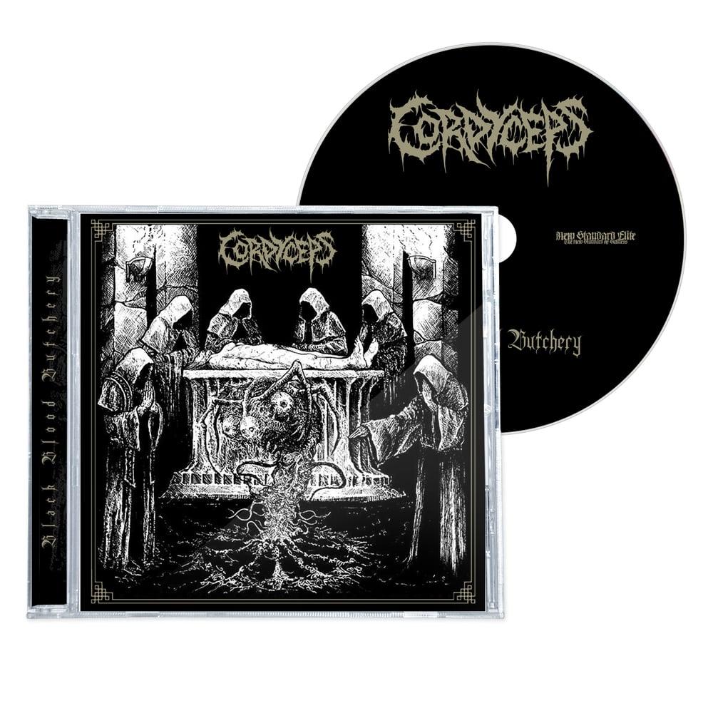 "Image of CORDYCEPS ""BLACK BLOOD BUTCHERY"" CD"