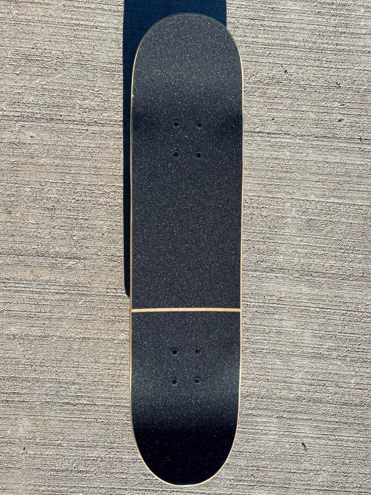 Image of Blue Stained Complete Skateboard w/ Metallic BlueTrucks