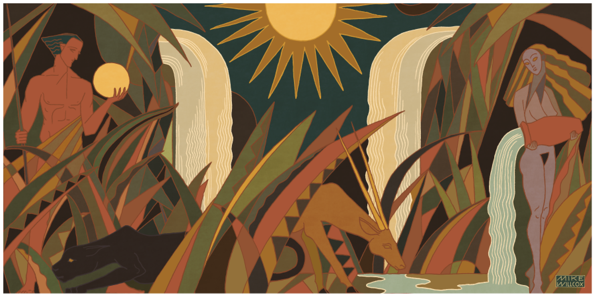 Image of Queen Mural